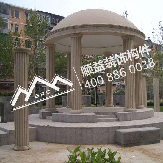 景观装饰GRC罗马柱