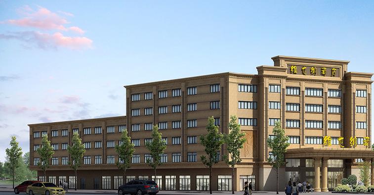 顺益EPS构件及GRC构件工程:维也纳酒店